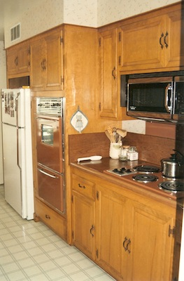 50s Country Kitchen - BEFORE