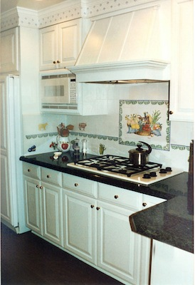 50 39 s country kitchen shelley beckes interior design for 50s kitchen cabinets