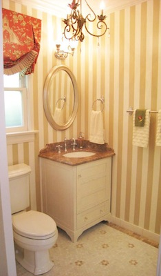 Midcentury Bathroom - After